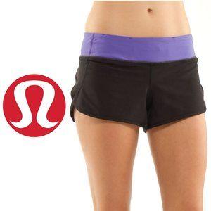 Lululemon Speed Shorts - Size 2
